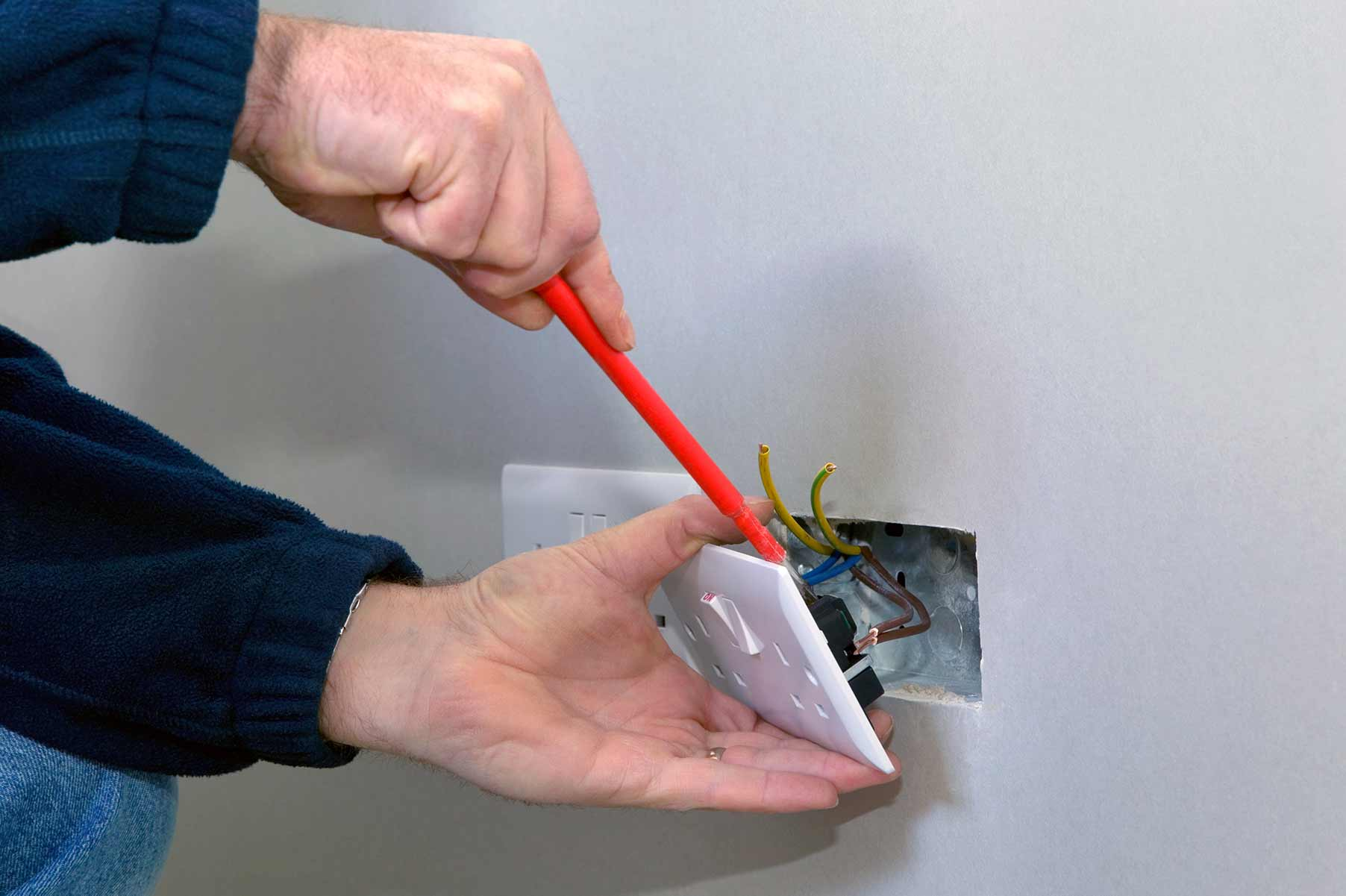 Our electricians can install plug sockets for domestic and commercial proeprties in Pimlico and the local area.